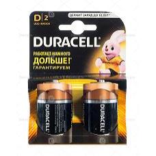 Элемент питания  Duracell LR20 BP2