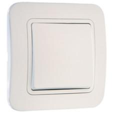 MAKEL LILIA 01 белый выключатель 1-клавишный 70001