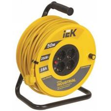 Удлинитель на кат. 4х50 с термозащ. IP 44 (3х1.5) IEK