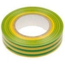 Изолента SafeLine ПВХ 19х25 желто-зеленая