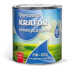 Грунт ГФ-021 серый 1,8 кг KRAFOR