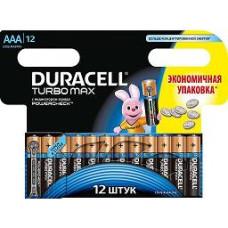 Элемент питания  Duracell LR03 TURBO BP12 3ААА