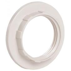 Кольцо к патрону Е27 бел