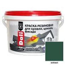 Краска резиновая DALI зеленая 6кг