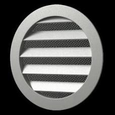 10РКМ Решетка вентил. круг.D125 c фланцем D100