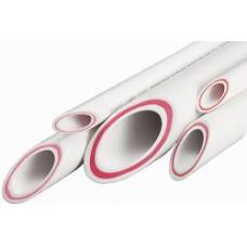 Труба пп армированная стекловолокном PN20  40мм*4м