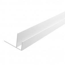 ПВХ угол F образный 3м, 7мм