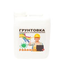 Грунтовка глуб проник акриловая PARADOX 5л