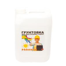 Грунтовка для внутр работ латекс PARADOX 10л