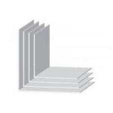Угол прямой пластиковый белый 2700*50*50 мм