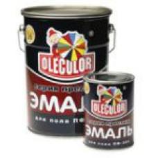 Эмаль ПФ-266 Олеколор красно-коричневая 2,7кг