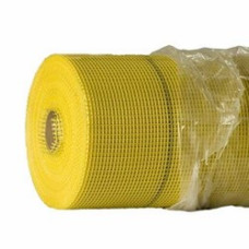 Сетка стеклоткан фасад желт 5*5мм 145г/м2 (1*50м)