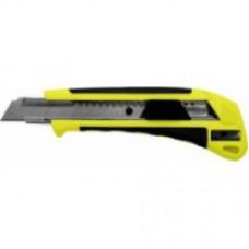 Нож 3 лезвия 18мм SK4 металл. направл.