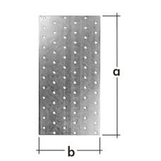 PP 15 Пластина соед 100*300*2мм