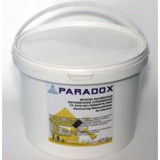 Краска ВД  потолочная PARADOX латекс супербелая14кг