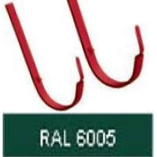 Крюк короткий 125мм, RAL 6005
