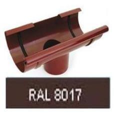 Воронка, 125/90мм RAL 8017