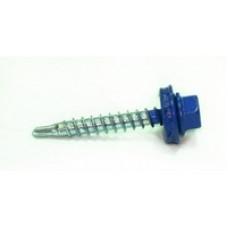 С-з кровельный EDPM 4.8*35 RAL 5002 синий