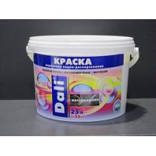 Краска акрил интерьерная белоснежн DALI 2,5л