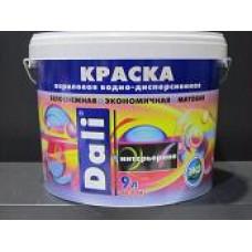 Краска акрил интерьерная белоснежн DALI 9л