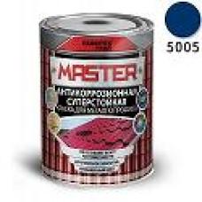 Эмаль для металлопрофиля и сендвич-панелей RAL 5005 сигнальный-синий (0.9 кг) FARBITEX ПРОФИ MASTER