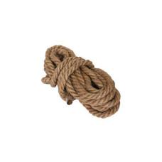 Веревка джутовая 3-прядная 12мм