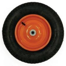 Колесо для тачки 400мм D=16мм (4,00-8)
