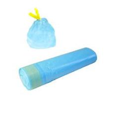 Пакеты д/мусора с завяз.60л (15шт)