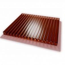 Поликарбонат 12000/2100/6 мм (коричневый)