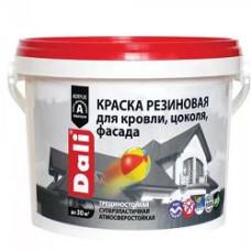 Краска резиновая DALI база А 6кг