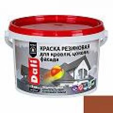 Краска резиновая DALI терракотовая 3кг