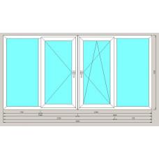 Остекление балкона ArtecStandart60 1-но камерн 1500*3000
