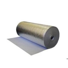 Мегафлекс фольгоизолон 3мм теплый пол 1*50м лавсан