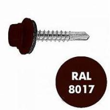 С-з кровельный EDPM 5,5*19 RAL 8017 коричневый