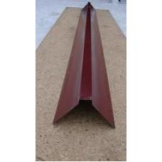 Планка конька (145*145*2500) 0,45 RAL3005