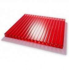 Поликарбонат 12000/2100/10 мм красный