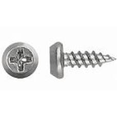 Саморез метал 3,5х11 мм острые ЦИНК