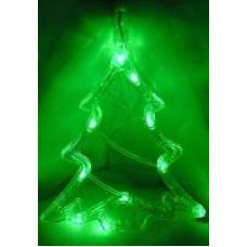 NeonNight 501-017 Елочка на окно зеленый