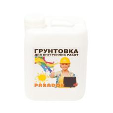 Грунтовка для внутр работ латекс PARADOX 5л