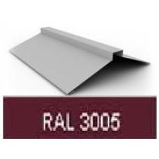 Конек фигурный RAL 3005 (винно-красный) - 05-2000