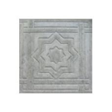 Плитка тротуарная Звезда Давида серая 30*30*3см (0,09 м2)
