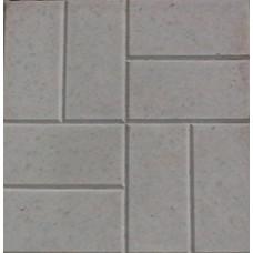 Плитка тротуарная Квадрат 8-кирпичей сер 40*40*4см (0,16 м2)