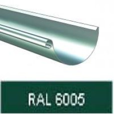 Желоб полукруглый 125мм, 3м RAL 6005