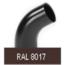 Колено 60град, 90мм RAL 8017