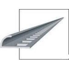 Раскладка под плитку наружн. ПВХ Пн7-8 белый