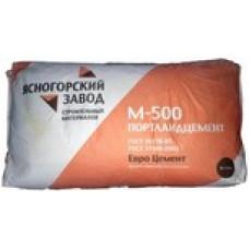 Цемент М-500 Д0 50кг Хайдельберг ЯЗСМ