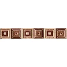 Бордюр Kamelia 4*40 квадрат темный