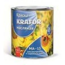 Краска МА-15 белая 2.5кг KRAFOR